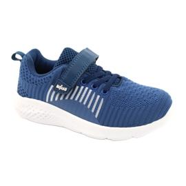 Befado obuwie dziecięce  516X063 niebieskie