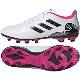 Buty piłkarskie adidas Copa Sense.4 FxG M FW6536 wielokolorowe białe