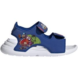 Sandały dla dzieci adidas Swim Sandal I niebieskie FY8958