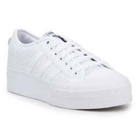 Buty adidas Nizza Platform W FX9180 białe