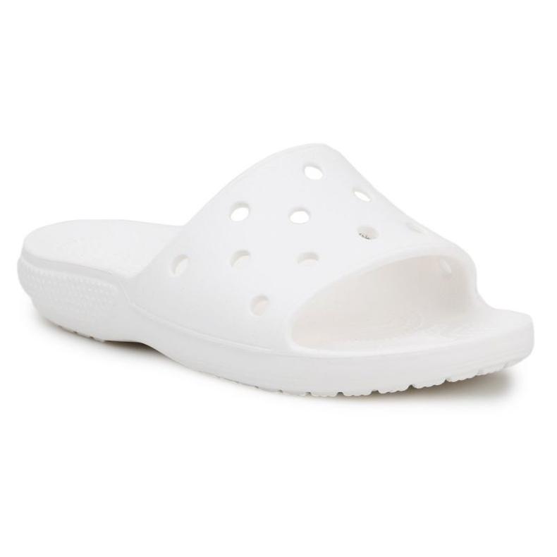 Klapki Crocs Classic Slide W 206121-100 białe