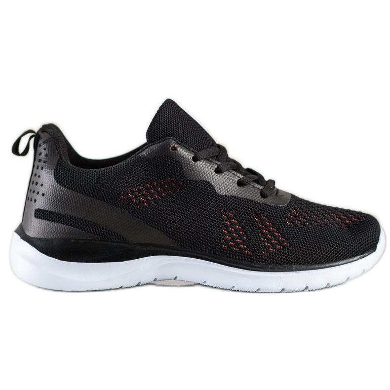 Bona Lekkie Czarne Sneakersy