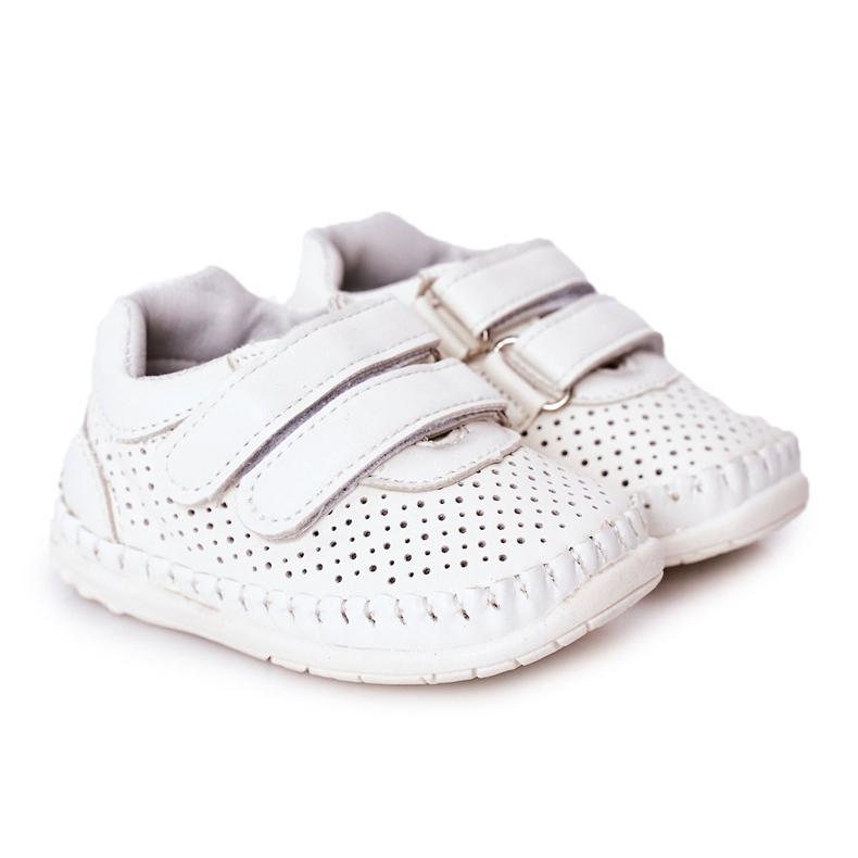Apawwa Dziecięce Sportowe Buty Białe Billie