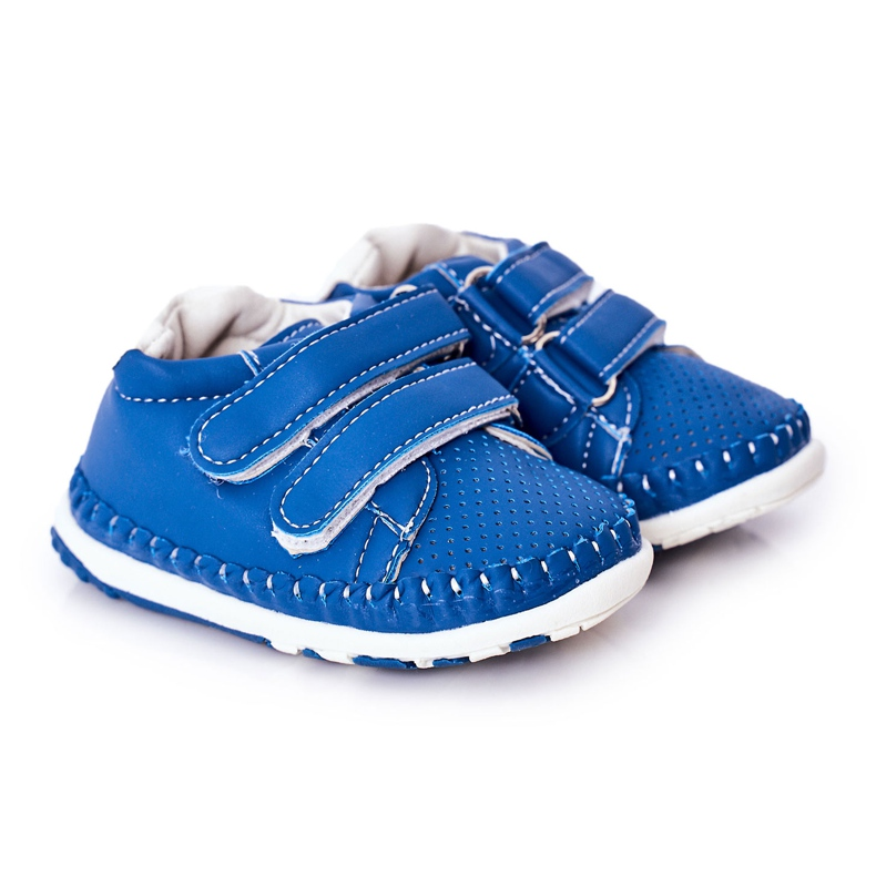 Apawwa Dziecięce Sportowe Buty Niebieskie Billie