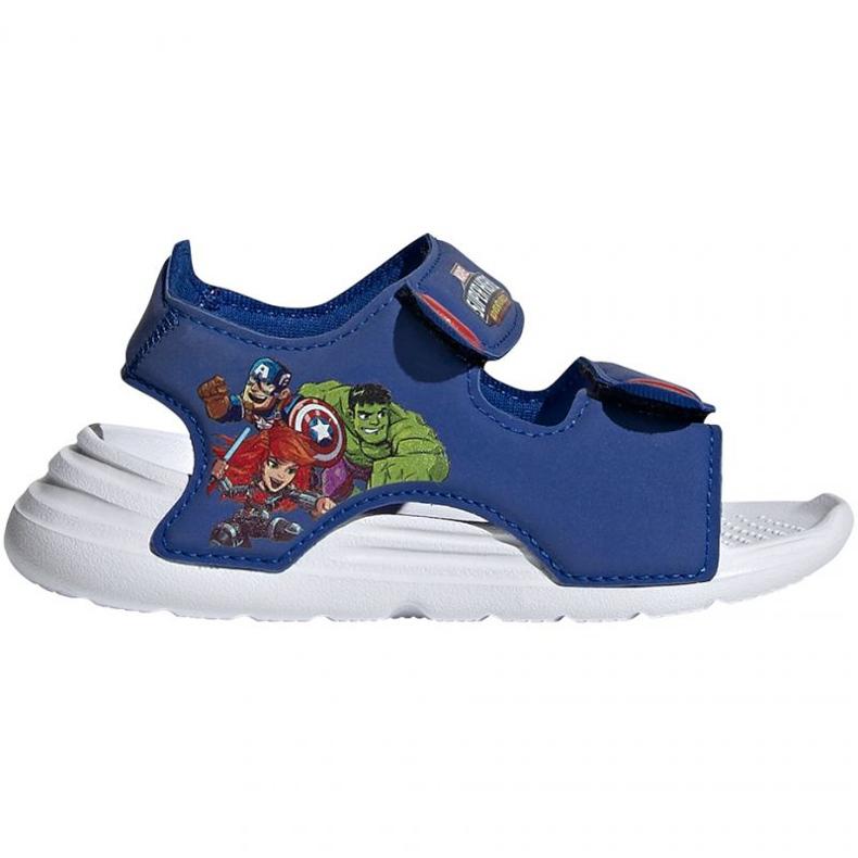 Sandały adidas Swim Sandal I FY8958 granatowe niebieskie