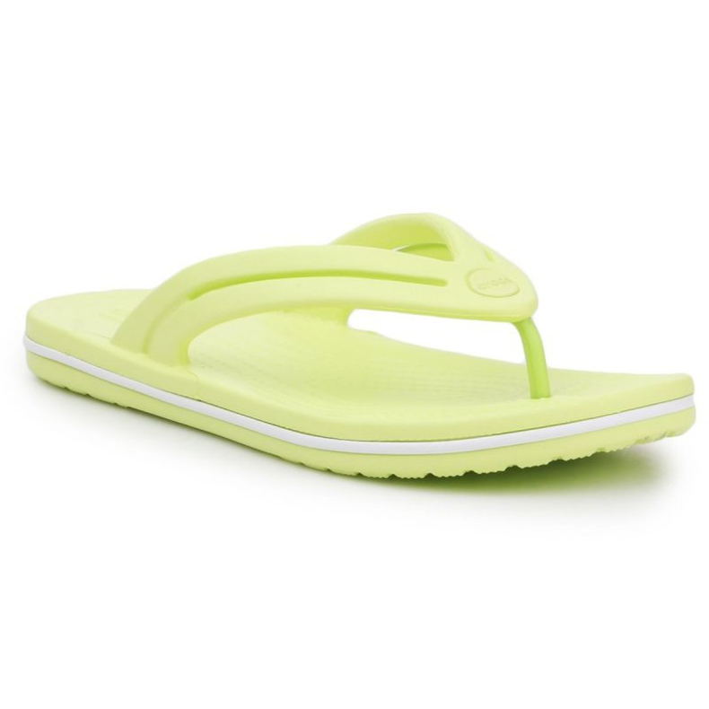 Japonki Crocs Crocband Flip W 206100-3U4 zielone
