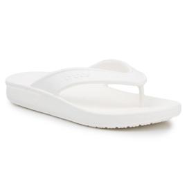 Japonki Crocs Classic Ii Flip W 206119-100 białe