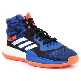 Buty adidas Perfomance Marquee Boost M G27738 niebieski,granatowy niebieskie