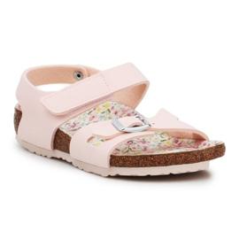 Adidas Sandały Birkenstock Colorado Kids Bs Grained 1018830 różowe żółte