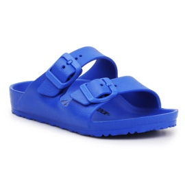 Klapki Birkenstock Arizona Eva Jr 1018925 niebieskie
