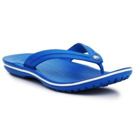 Japonki Crocs Crocband Flip W 11033-4KG niebieskie