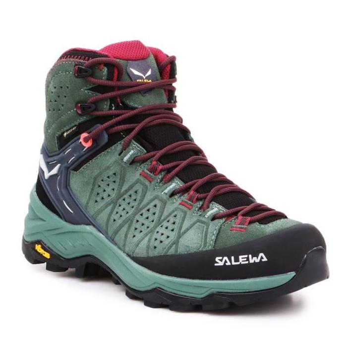 Buty trekkingowe Salewa Ws Alp Trainer 2 Mid Gtx W 61383-5085 granatowe niebieskie