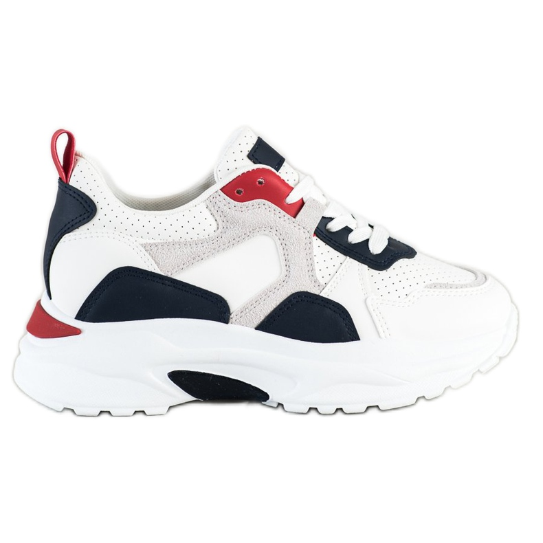 SHELOVET Kolorowe Sneakersy wielokolorowe