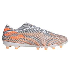 Buty piłkarskie adidas Nemeziz.1 Ag M FY0814 wielokolorowe pomarańczowe
