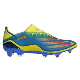 Buty piłkarskie adidas X Ghosted.1 Fg M FY1223 wielokolorowe wielokolorowe
