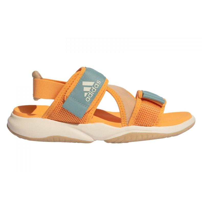 Sandały adidas Terrex Sumra W FX6049 niebieskie pomarańczowe