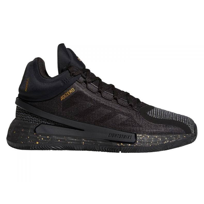 Buty adidas D Rose 11 M FZ1544 czarne wielokolorowe