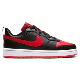 Buty Nike Court Borough Low 2 Jr BQ5448-007 czarne