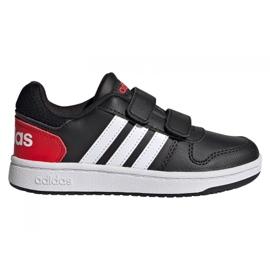 Buty adidas Hoops 2.0 C Jr FY9442 czarne