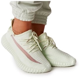 PS1 Damskie Sportowe Buty Sneakersy Jasnozielone Amazing