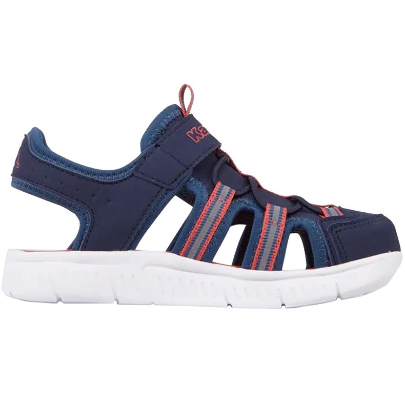 Buty dla dzieci Kappa Kyoko granatowo-pomarańczowe 260884K 6744 granatowe