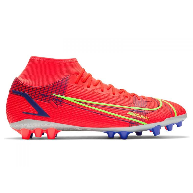 Buty piłkarskie Nike Superfly 8 Academy Ag M CV0842-600 wielokolorowe czerwone