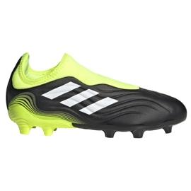 Buty piłkarskie adidas Copa Sense.3 Ll Fg Jr FX1982 wielokolorowe czarne