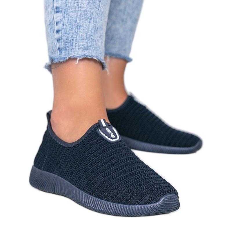 Granatowe sneakersy sportowe Do it