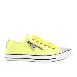 Żółte neonowe trampki So comfy