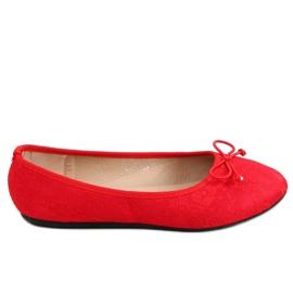Baleriny koronkowe czerwone DY-12 Red