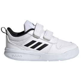 Buty adidas Tensaur I Jr S24052 białe granatowe