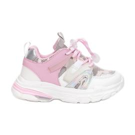 Vices C-9169-83-white/pink białe różowe