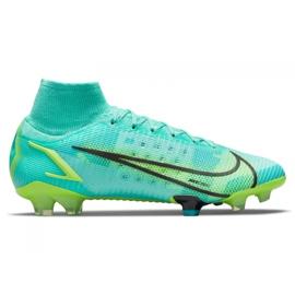 Buty piłkarskie Nike Mercurial Superfly 8 Elite Fg M CV0958 403 wielokolorowe niebieskie