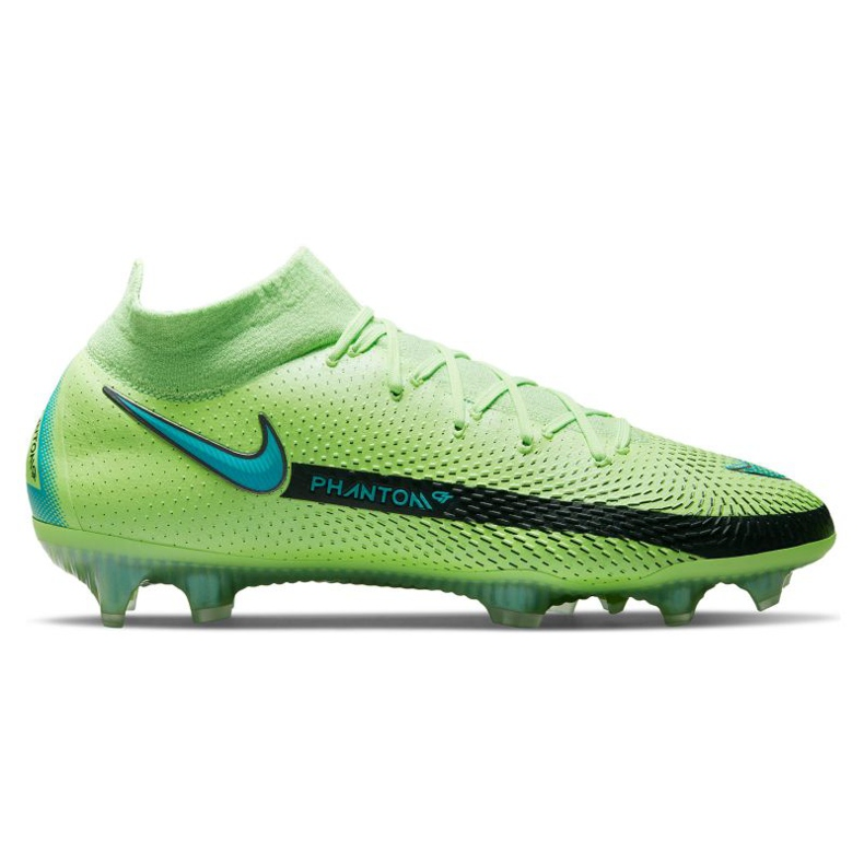 Buty piłkarskie Nike Phantom Gt Elite Dynamic Fit Fg M CW6589 303 wielokolorowe zielone