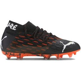 Buty piłkarskie Puma Future 6.1 Netfit Fg Ag Jr 106200 01 wielokolorowe czarne