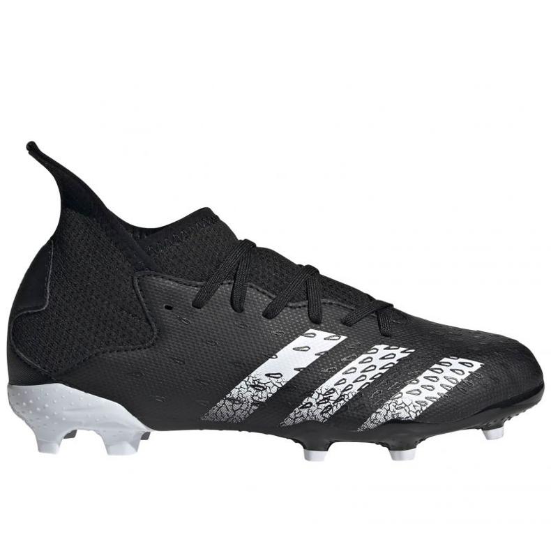 Buty piłkarskie adidas Predator Freak .3 Fg Jr FY1031 wielokolorowe czarne