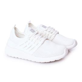 Dziecięce Sportowe Buty Sneakersy Big Star HH374215 Białe