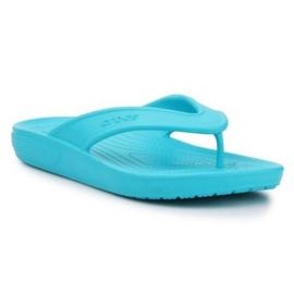 Japonki Crocs Classic Ii Flip W 206119-4SL niebieskie