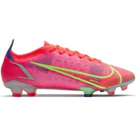 Buty piłkarskie Nike Mercurial Vapor 14 Elite Fg M CQ7635 600 czerwone