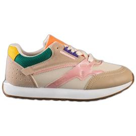 SHELOVET Kolorowe Buty Sportowe wielokolorowe