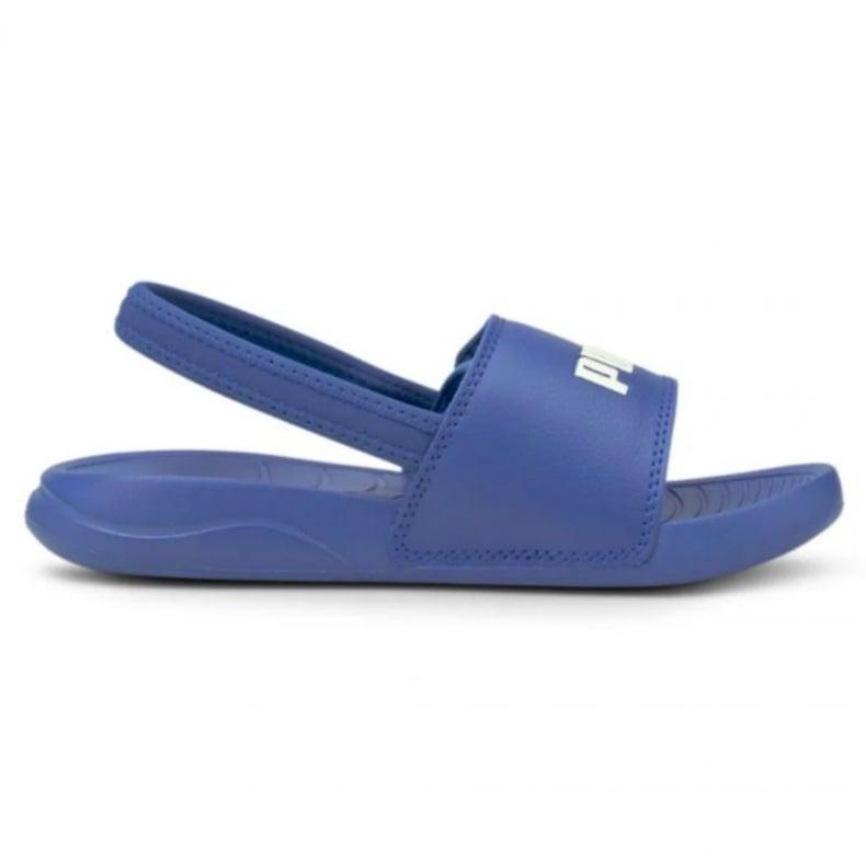 Sandały Puma Popcat 20 Backstrap Jr 380555 06 niebieskie