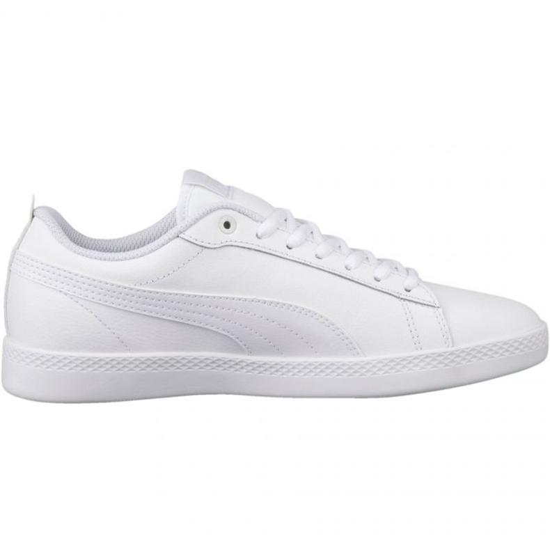 Buty Puma Smash Wns v2 L W 365208 04 białe