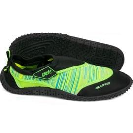 Obuwie Plażowe Aqua-Speed 2B zielone ['czarny', 'zielony']