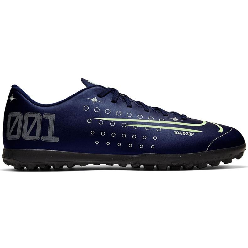 Buty piłkarskie Nike Mercurial Vapor 13 Club Mds Tf M CJ1305-401 granatowe