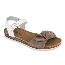 Inblu obuwie damskie  158D152 białe szare