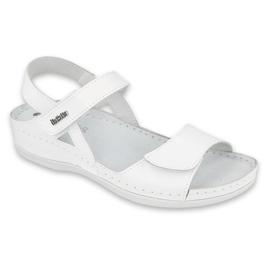 Inblu sandały obuwie damskie  158D163 białe