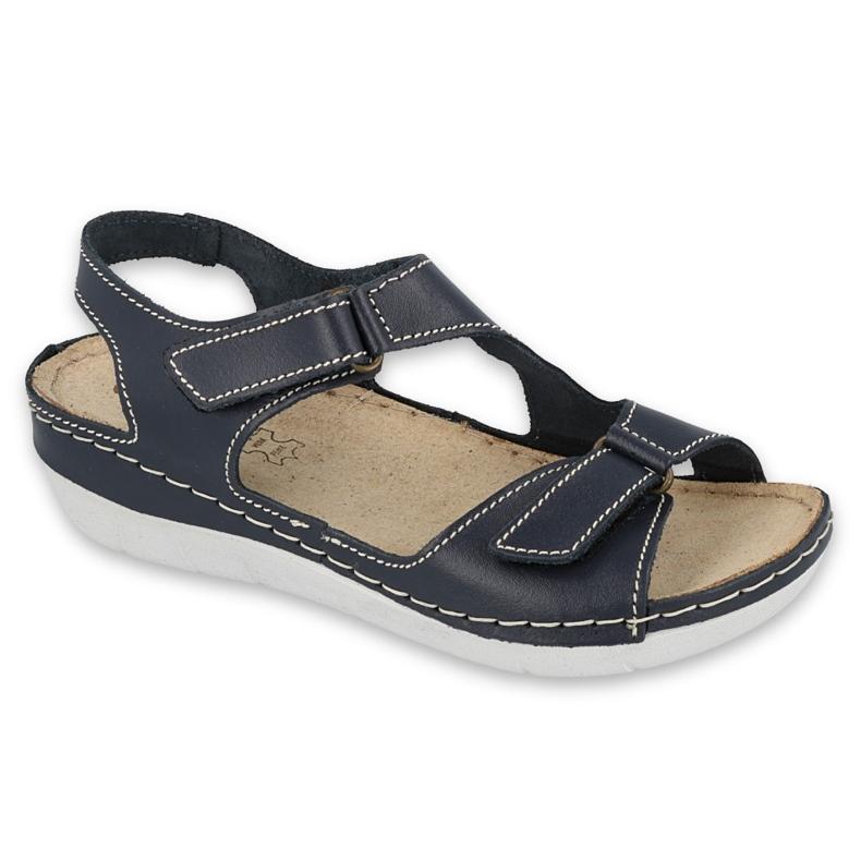 Inblu sandały obuwie damskie  158D165 granatowe