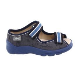 Befado obuwie dziecięce  869X159 granatowe niebieskie