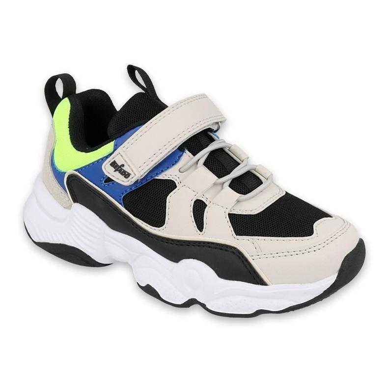 Befado obuwie dziecięce  516X067 beżowy czarne