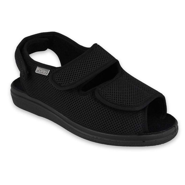 Befado obuwie męskie  pu 676M007 czarne